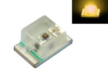 S937 - 20 Stück SMD LED 0805 gelb LEDs yellow