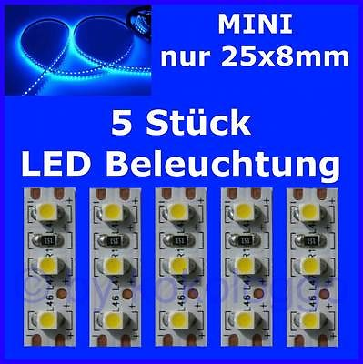 s505 5 st ck mini led modellbeleuchtung 2 5cm blau beleuchtung h user autos. Black Bedroom Furniture Sets. Home Design Ideas