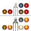 Duo LED 3mm Bi-color LEDs 3pin digital Lichtwechsel Loks Wendezug FARBAUSWAHL