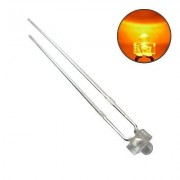 S363 - 50 Stück Miniatur Mini LEDs 1,8mm orange klar LED