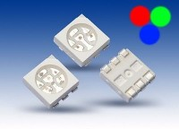 S932 - 20 Stück SMD RGB LED PLCC-6 5050 rot grün blau 3-Chip LEDs red green blue